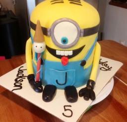 1024x1365px Minion Birthday Cakes Picture in Birthday Cake