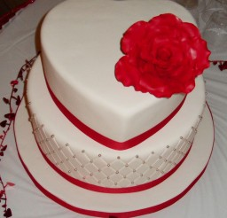 1024x1365px Mixed Shaped Wedding Cakes Picture in Wedding Cake