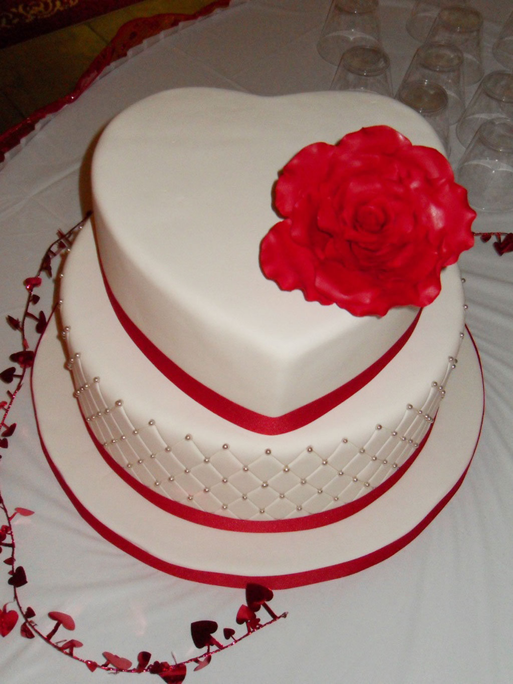 Mixed Shaped Wedding Cakes Picture In Cake