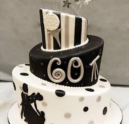 1024x1336px Modern 60th Birthday Cake Ideas Picture in Birthday Cake