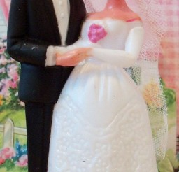 1024x1920px Modern Vintage Wedding Cake Topper Picture in Wedding Cake