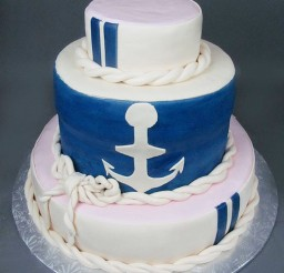 1024x1365px Nautical Wedding Cake Picture in Wedding Cake