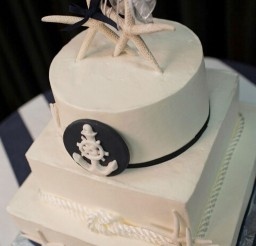 1024x1533px Nicely Done Nautical Wedding Cake Picture in Wedding Cake