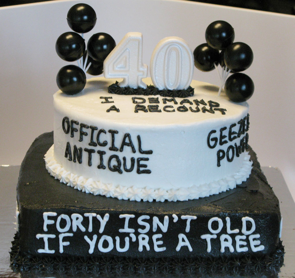 Over The Hill 40th Birthday Cake Birthday Cake Cake Ideas by