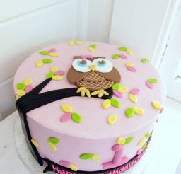 1024x1365px Owl Birthday Cake Picture in Birthday Cake