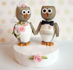 1024x1024px Owl Love You Forever Wedding Cake Topper Picture in Wedding Cake