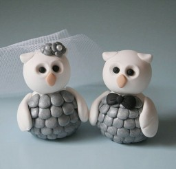 1024x890px Owl Wedding Cake Topper Picture in Wedding Cake