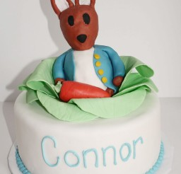 1024x1458px Peter Rabbit 1st Birthday Cake Picture in Birthday Cake