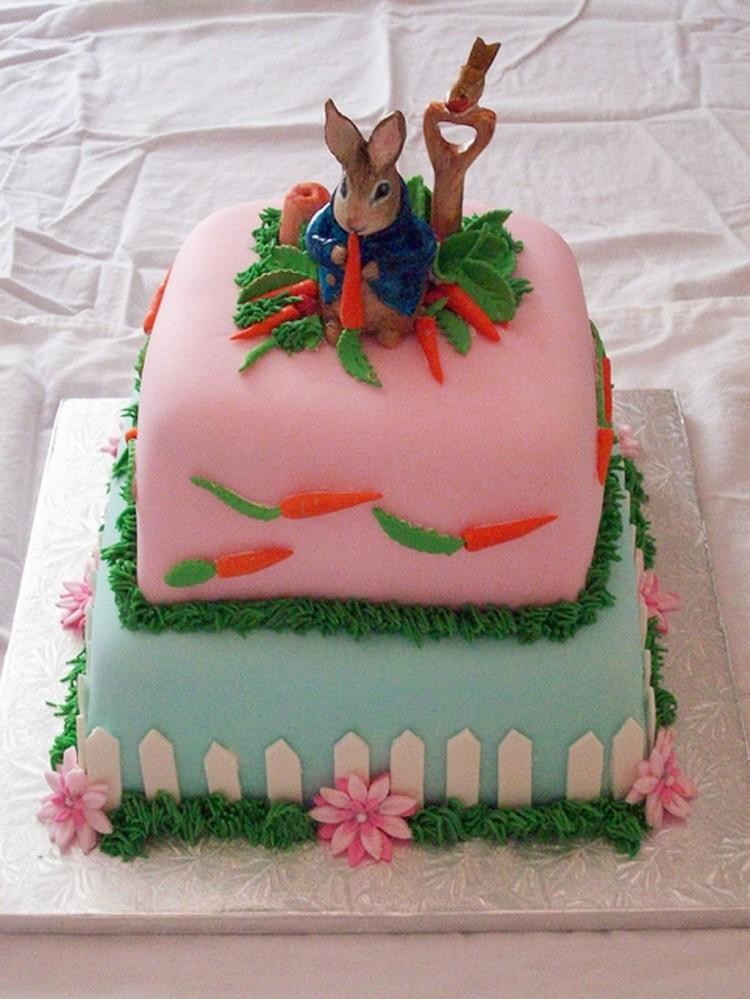 Peter Rabbit Birthday Cake Decoration Picture in Birthday Cake