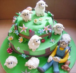 1024x993px Pin P Sheep Birthday Cake Ideas Picture in Birthday Cake