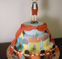 1024x1365px Pinocchio Birthday Cake Picture in Birthday Cake