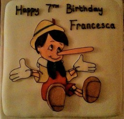 1024x1028px Pinocchio Birthday Cakes Picture in Birthday Cake