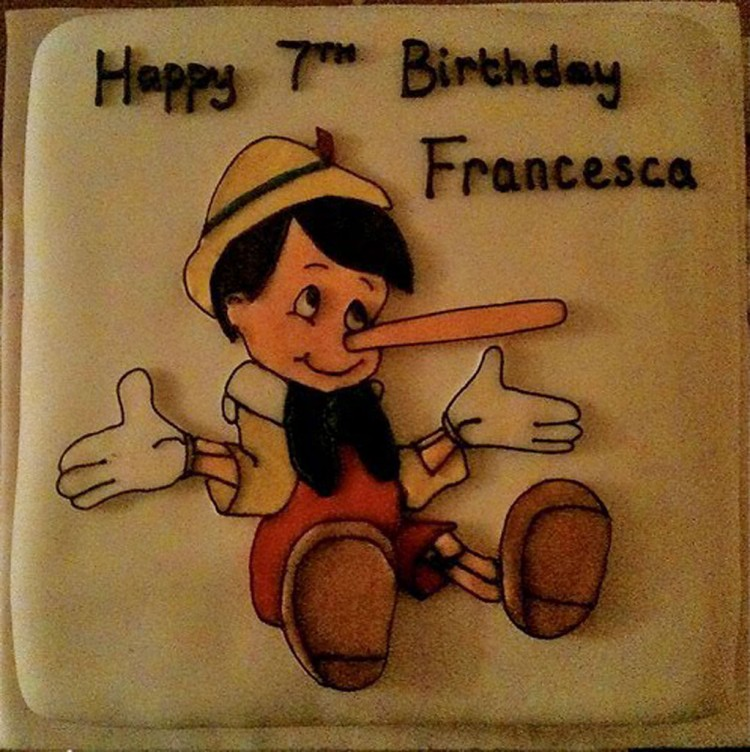 Pinocchio Birthday Cakes Picture in Birthday Cake