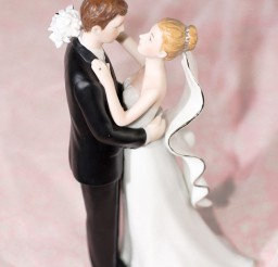 1024x1446px Porcelain Bride And Groom Wedding Cake Topper Figurine Picture in Wedding Cake