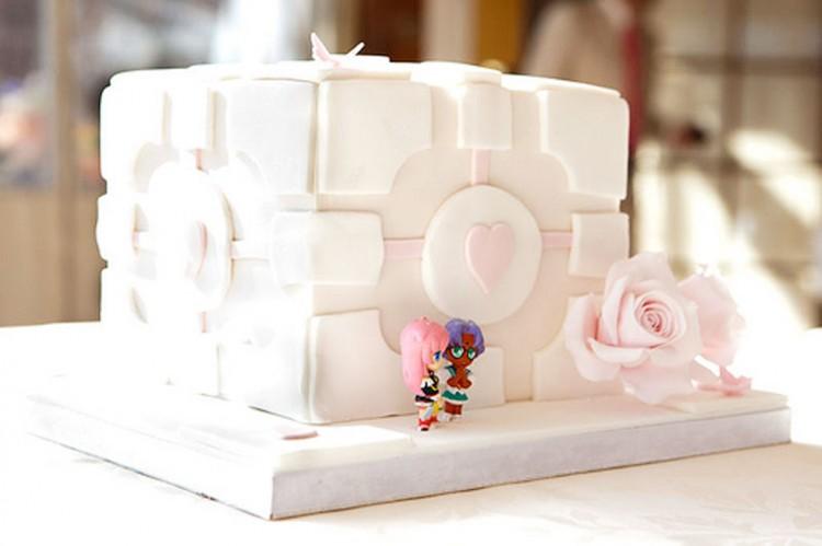 Portal Lesbian Wedding Cake Picture in Wedding Cake