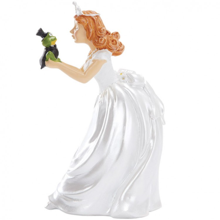 Princess And Frog Wedding Cake Topper Picture in Wedding Cake