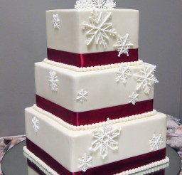 1024x1295px Red Winter Wedding Cakes Winter Picture in Wedding Cake
