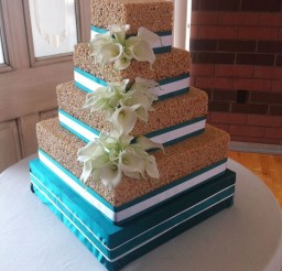 1024x1370px Rice Krispie Wedding Cake Decoration Picture in Wedding Cake