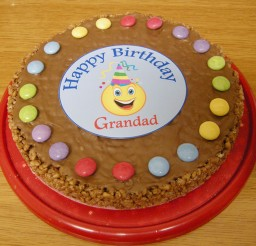 1024x768px Rice Krispie Birthday Cake Photo Picture in Birthday Cake