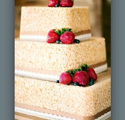 1024x1173px Rice Krispie Cake For Wedding Picture in Wedding Cake