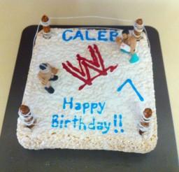 1024x1024px Ring Rice Krispie Birthday Cake Picture in Birthday Cake