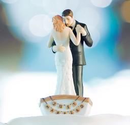 1024x1229px Romantic Row Boat Weddingstar Topper Picture in Wedding Cake
