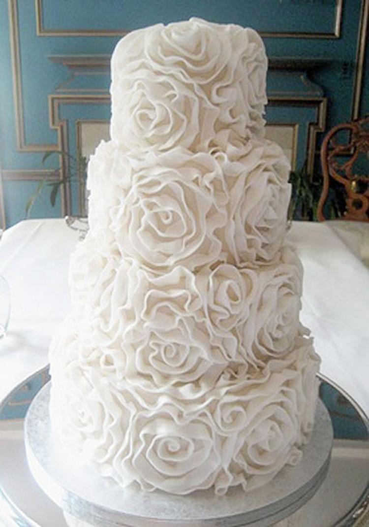 Romantic Wedding Cakes Picture in Wedding Cake