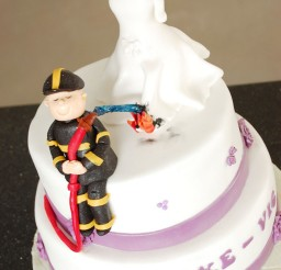 1024x1541px Round Fireman Wedding Cakes Picture in Wedding Cake