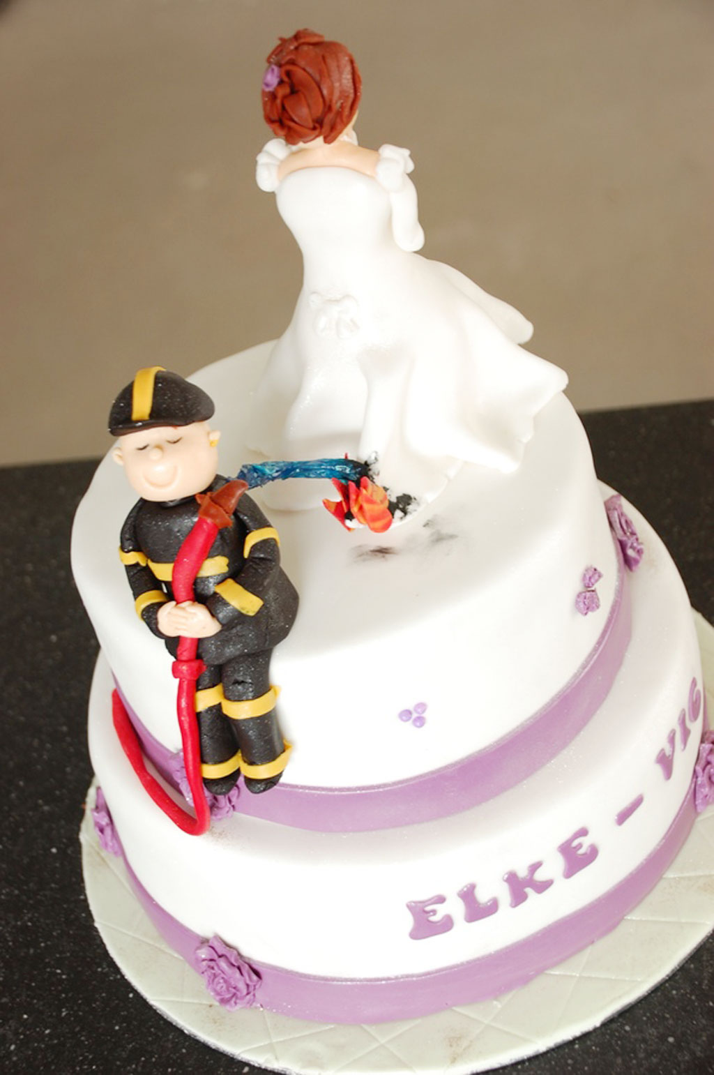 Outstanding Firefighter Wedding Cake Topper Image Collection - The ...