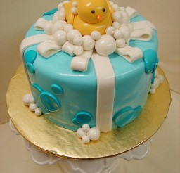 1024x1365px Rubber Ducky RIbbon Birthday Cake Picture in Birthday Cake