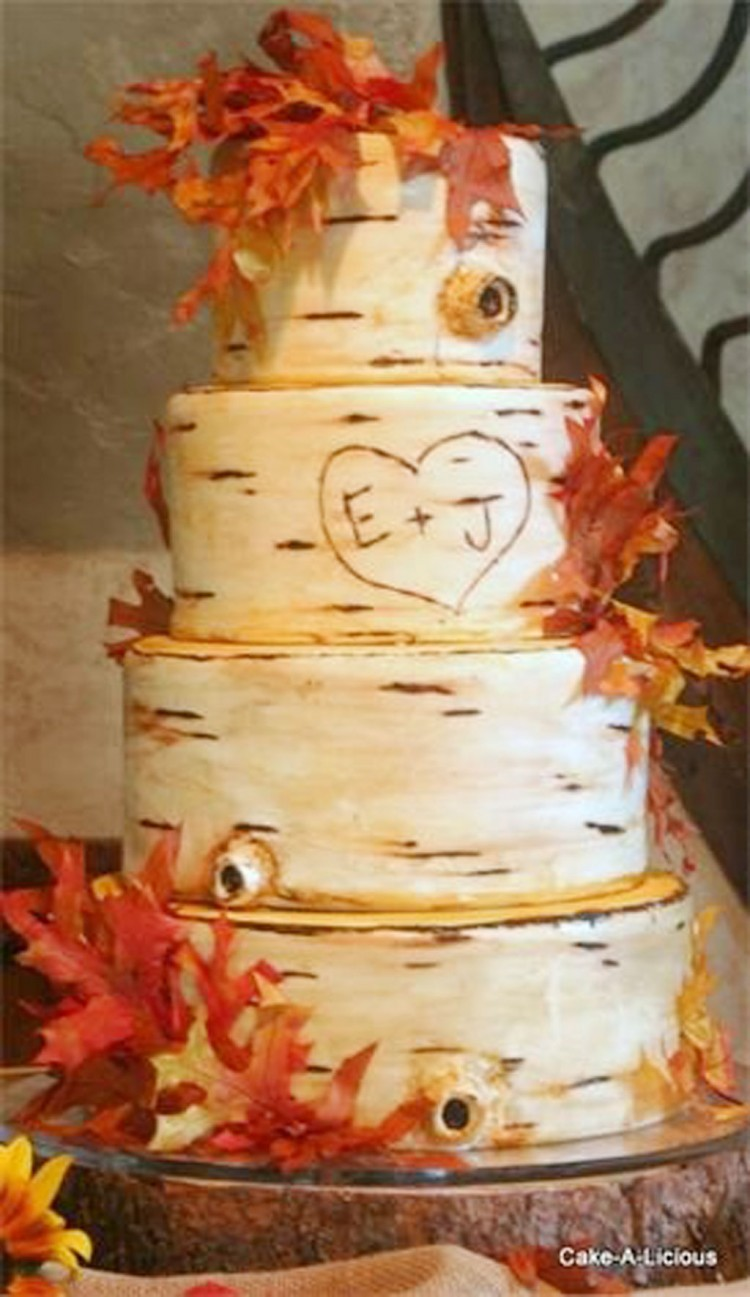 Salt Lake Wedding Cake Design Picture in Wedding Cake