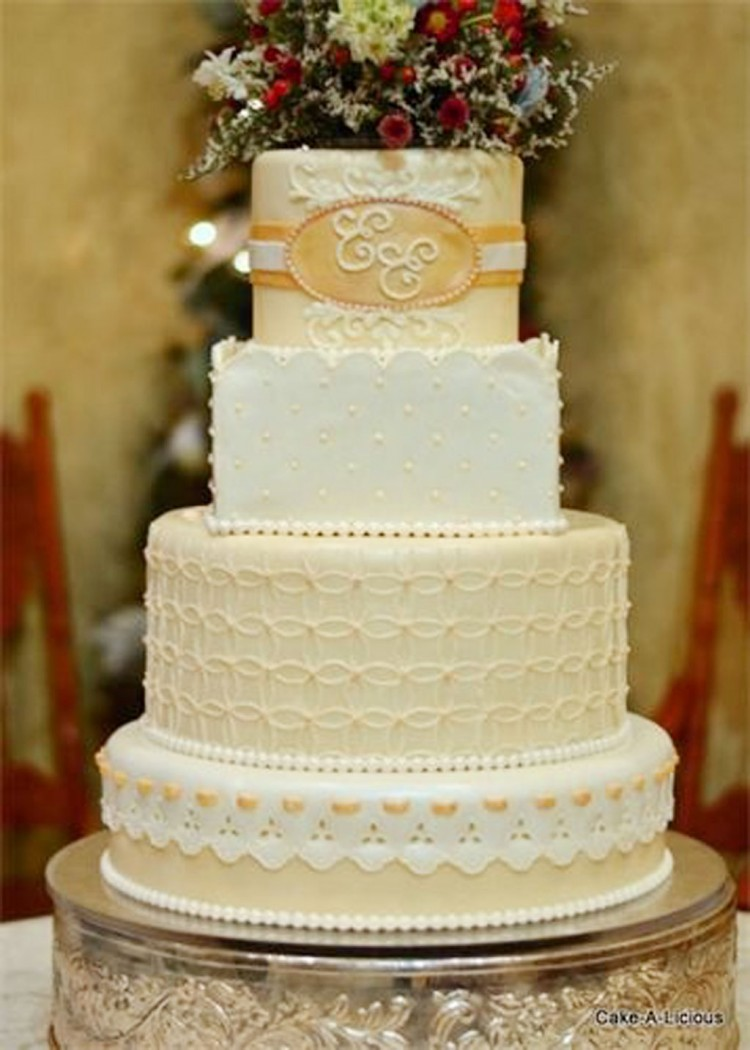Salt Lake Wedding Cakes Picture in Wedding Cake