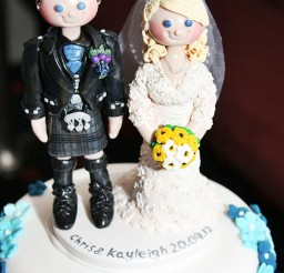 1024x1538px Scottish Wedding Cake Topper Picture in Wedding Cake
