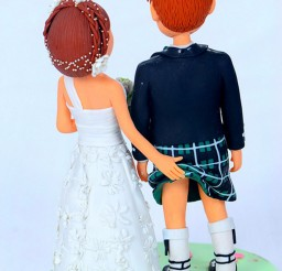 1024x1546px Scottish Wedding Cake Topper Picture in Wedding Cake