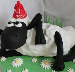 1024x815px Shaun The Sheep Birthday Cake Picture in Birthday Cake