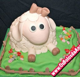 1024x768px Sheep Cake Ideas For Birthday Cake Picture in Birthday Cake
