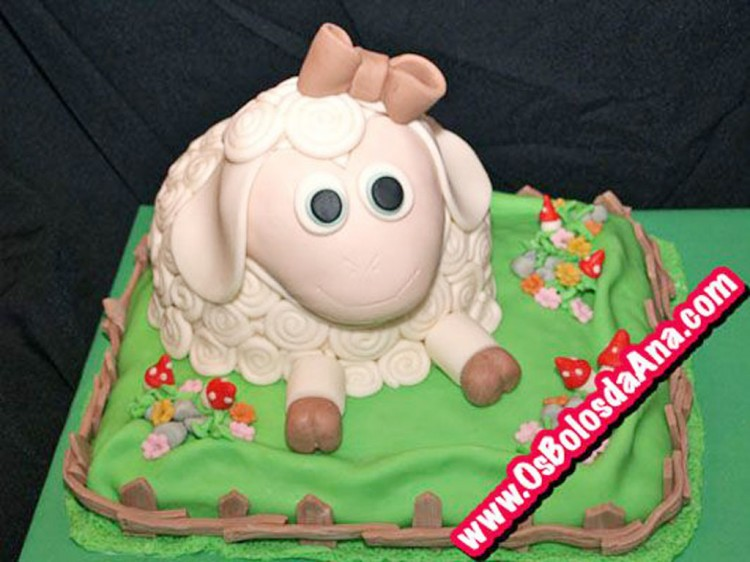 Sheep Cake Ideas For Birthday Cake Picture in Birthday Cake