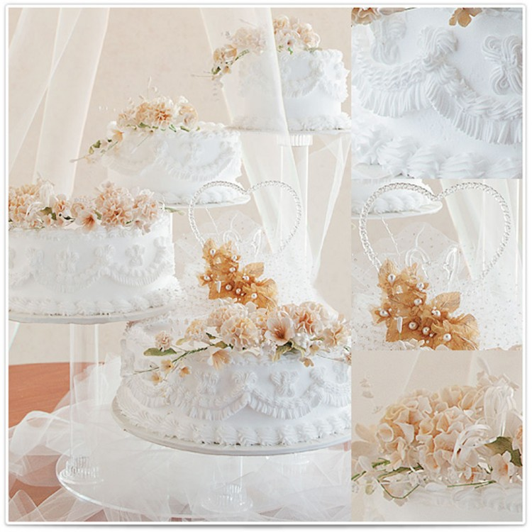 Sheila Brookshires Wedding Cakes Picture in Wedding Cake
