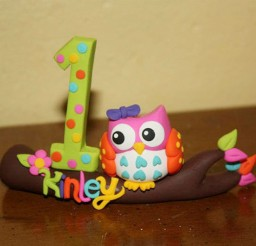 1024x683px Single Owl Birthday Cake Ornament Picture in Birthday Cake