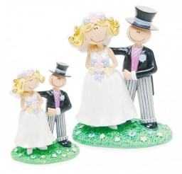 1024x1024px Small Cartoon Style Wedding Cake Topper Picture in Wedding Cake