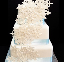 1024x1293px Snowflake Wedding Cake Picture in Wedding Cake