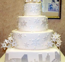 1024x1253px Snowflake Wedding Cake Designs Picture in Wedding Cake