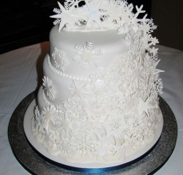 1024x1208px Snowflake Wedding Cakes Picture in Wedding Cake