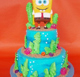 1024x1365px SpongeBob Birthday Cake Ideas Picture in Birthday Cake