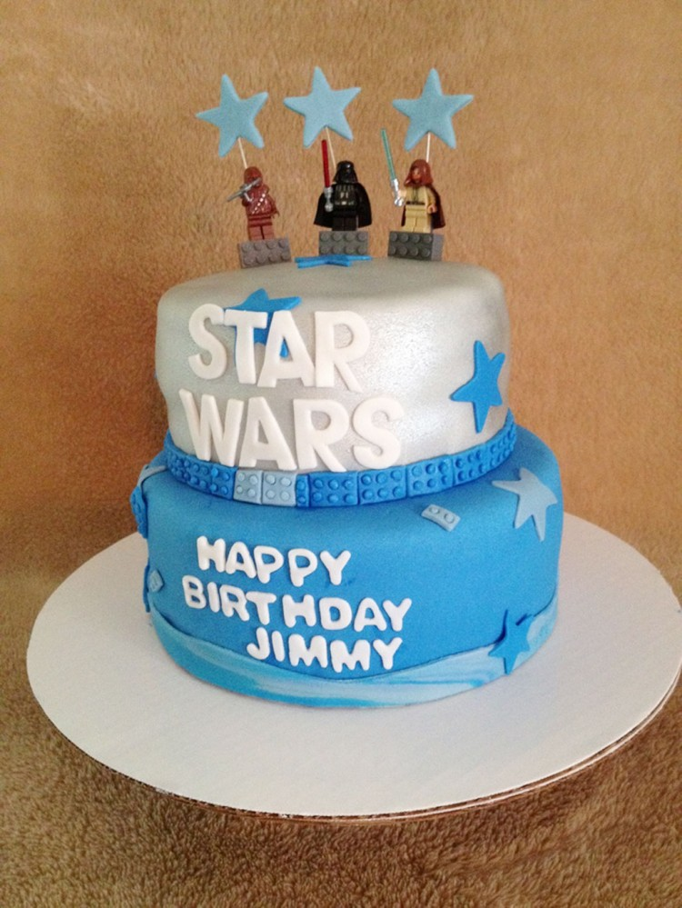 Star Wars Birthday Cakes For Kids Picture in Birthday Cake