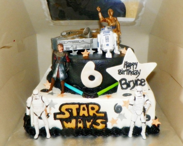 Star Wars Birthday Cakes 1 Picture in Birthday Cake