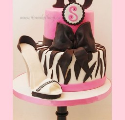 1024x1680px Stiletto Sweet 16 Birthday Cakes Picture in Birthday Cake