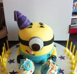 1024x1371px Stuart The Minion Birthday Cakes Picture in Birthday Cake