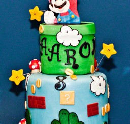 1024x1445px Super Mario Birthday Cake Themes Picture in Birthday Cake