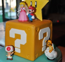 1024x1529px Super Mario Wedding Cake Toppers Picture in Wedding Cake